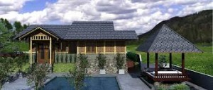 ide desain bambu sebagai atap 300x128 Ide Desain Bambu Itu Naikkan Atap