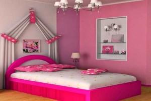 Desain Kamar Tidur Anak Perempuan Nyaman dan Cantik 4 300x200 Tampilan Desain Interior Kamar Tidur Anak Perempuan Modern