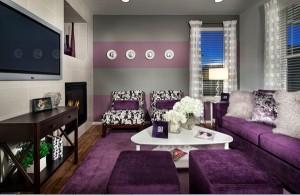 Desain Ruang Tamu Menarik Berwarna Ungu tiperumahminimalis 300x195 Desain Interior Beberapa Ruang Tamu Minimalis Tebaru Modern