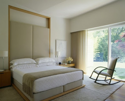 Comfort Bedroom Design in Modern Marin County Residence by Dirk Denison Architects 639x515 Desain Rumah Modern oleh Arsitek Dirk Denison