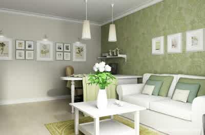 Cool Living Room Ideas at Small Apartment Interior Design by Artem Kornilov 600x396 Rumah Gaya Modern oleh Artem Kornilov