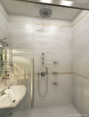 Glass Shower Room at Small Apartment Interior Design by Artem Kornilov  Rumah Gaya Modern oleh Artem Kornilov