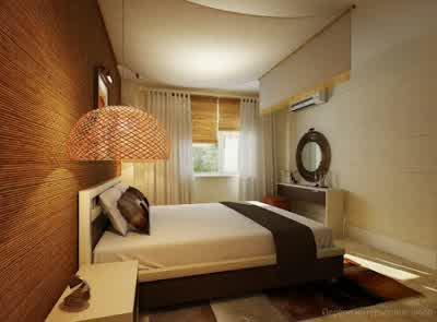 Luxury Bedroom Design at Small Apartment Interior Design by Artem Kornilov 563x415 Rumah Gaya Modern oleh Artem Kornilov