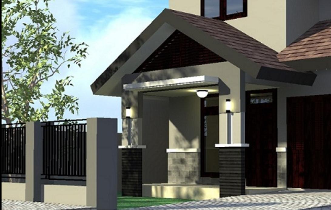 Ornament teras rumah Aneka model gambar teras rumah minimalis sederhana 2015