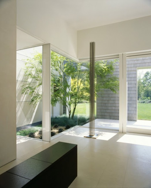 Room Layout with Garden View in Modern Marin County Residence by Dirk Denison Architects 523x650 Desain Rumah Modern oleh Arsitek Dirk Denison