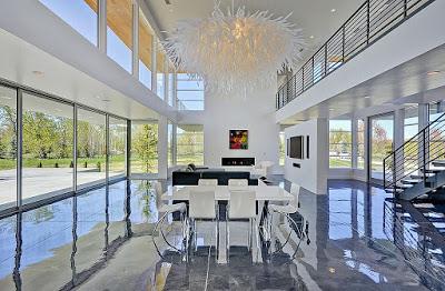 contoh desain ruang keluarga mewah 1 Contoh Desain Ruang Keluarga Mewah