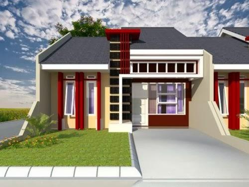desain rumah minimalis type45 Ragam Desain Rumah Minimalis Type 45 Model Terbaru 2015
