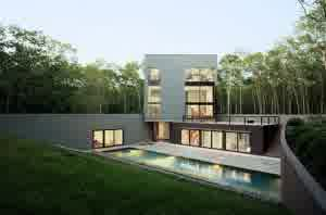 rumah minimalis 4 300x198.jpg4  Contoh Desain Denah Rumah Minimalis 2 Lantai yang Sederhana