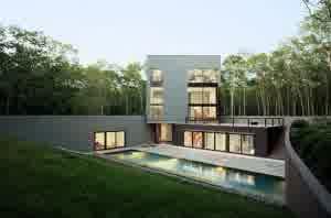 rumah minimalis 4 300x1981.jpg5 1 Contoh Desain Denah Rumah Minimalis 2 Lantai yang Sederhana